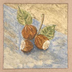 """""""Nüsse"""" Eitempera auf Papier, 15x15cm, 2019"""
